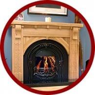 Timber Fireplace Surrounds