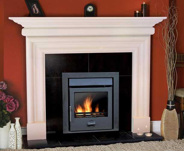 Bolection Stone Fireplace