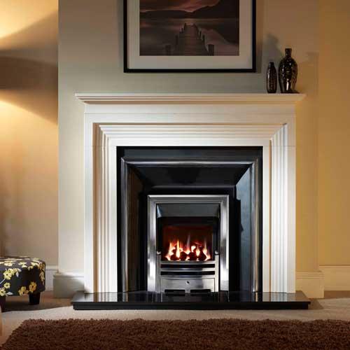 Evesham Stone Fireplace