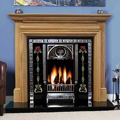 Genova Oak Fireplace