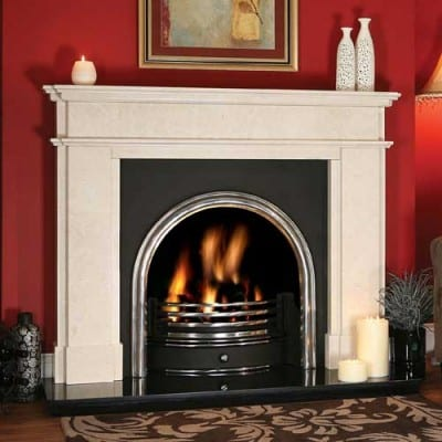 Nimes Stone Fireplace