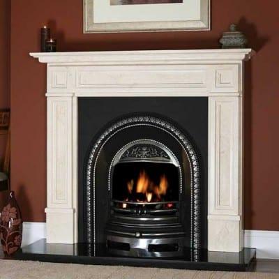 Valence Stone Fireplace