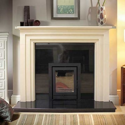 Clermont Stone Fireplace