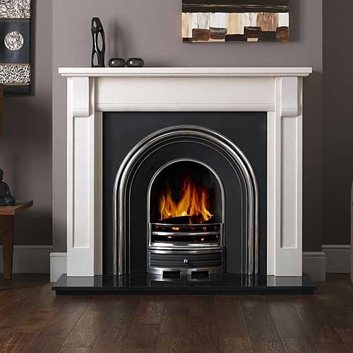 Verona Stone Fireplace